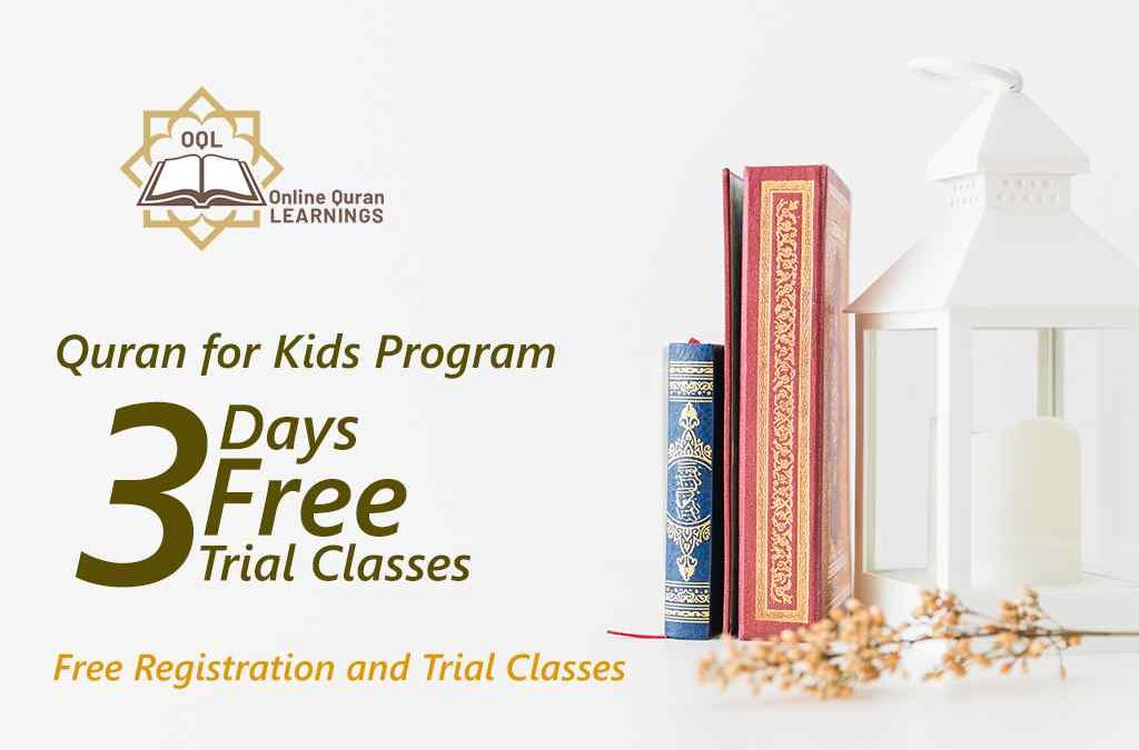 One on One classes to learn Quran for Kids